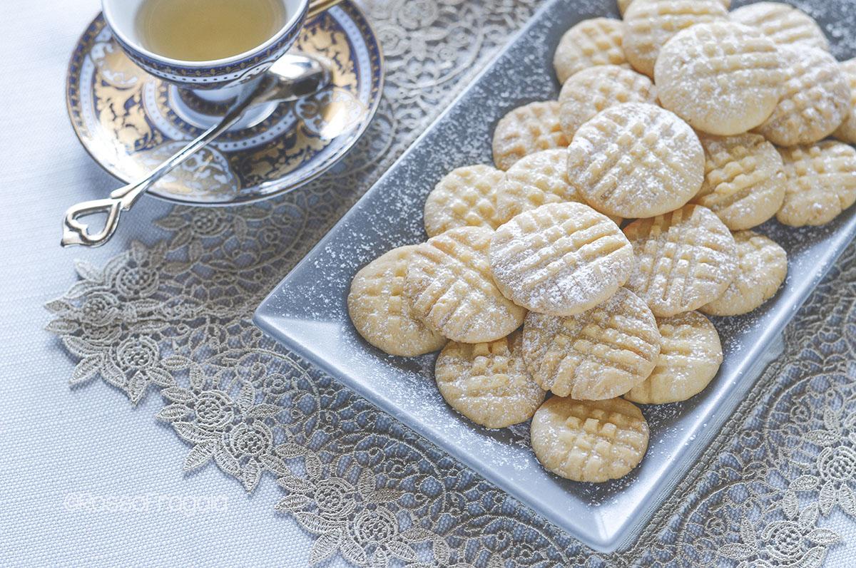 Biscotti Frollini con tuorli sodi