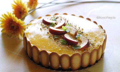 Torta Gelèe al Mango e Pesca