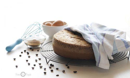 La ricetta per un PAN DI SPAGNA AL CAFFÈ… sofficissimo!
