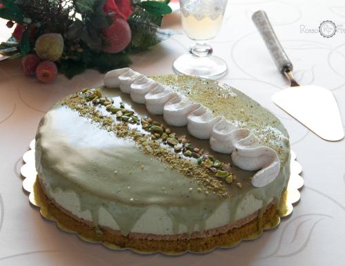 Cheese cake glassata al pistacchio di Bronte – Consigliatissima!