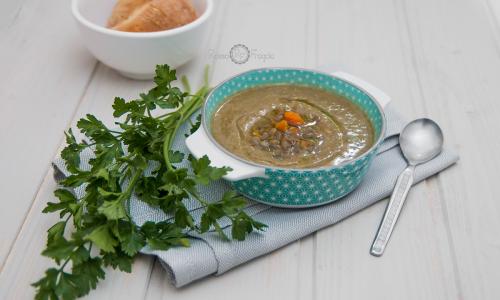 Vellutata di lenticchie e carote – ricetta veg gustosa e leggera
