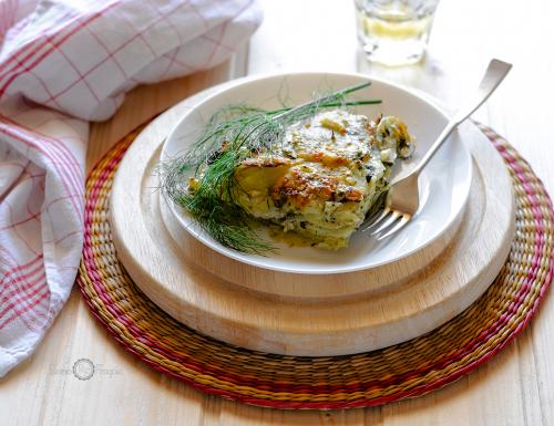 Alici e patate al finocchietto selvatico – ricetta siciliana