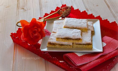 Torta Slava con meringa e confettura di fichi