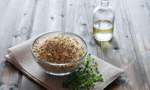 Panatura al pistacchio con zenzero e capperi… una specialità siciliana!