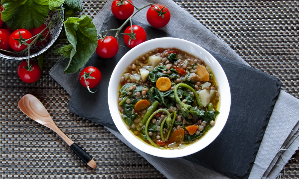 Tenerumi e lenticchie… la zuppa estiva