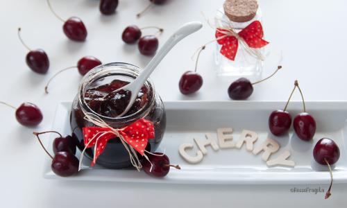 """Confettura di ciliegie con """"metodo PF"""" senza aggiunta di pectina"""