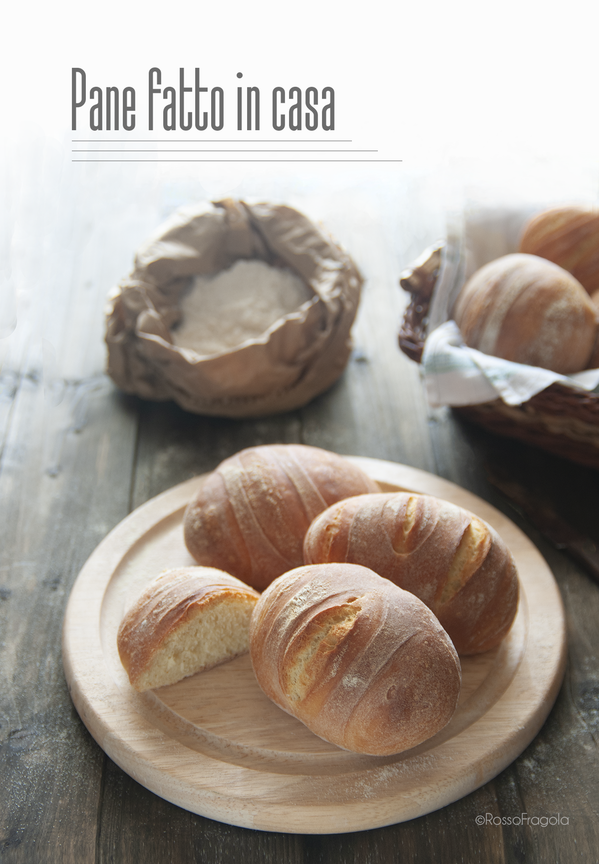 Pane semplice fatto in casa
