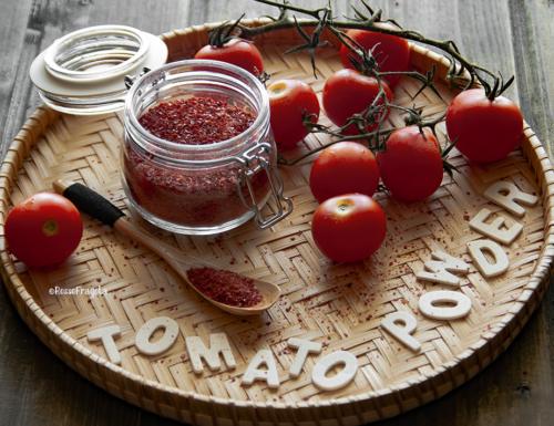 Bucce di pomodoro disidratate – Tomato powder –