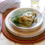 Alici e patate al finocchietto selvatico - ricetta siciliana