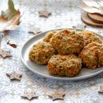Polpette vegetariane svuotafrigo cotte al forno