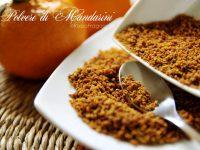 Polvere di mandarini – ricetta facile