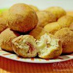 Bombette filanti – frittelle con prosciutto e mozzarella