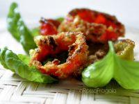 Anelli di peperoni al forno – antipasto sfizioso e croccante