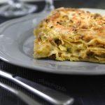 Lasagne con funghi e zucchine...il gusto è assicurato!