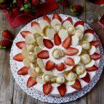 """""""Dalia Cake"""" - Torta alle Fragole e cioccolato bianco"""