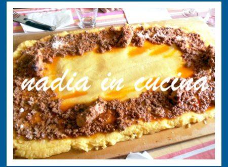 polenta sul tagliere!!!