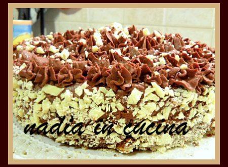 torta al cioccolato …dedicata a una amica!!
