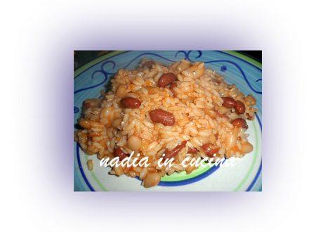 risotto ai fagioli