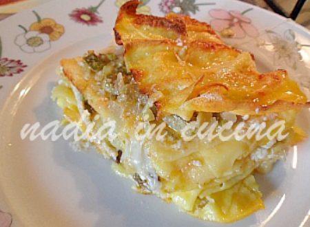 lasagne affumicate con asparagi e……