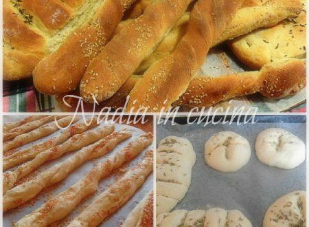 pane e grissini al sesamo e finocchietto