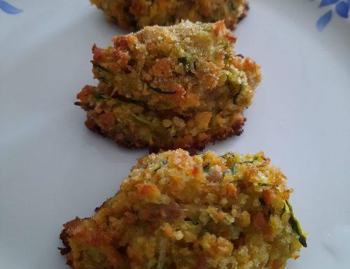 Polpette tonno e zucchine