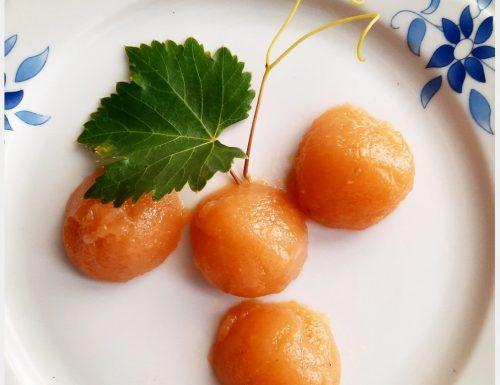 Gelatina al succo di uva moscato