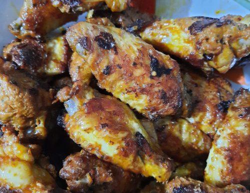 Alette di pollo alla paprika