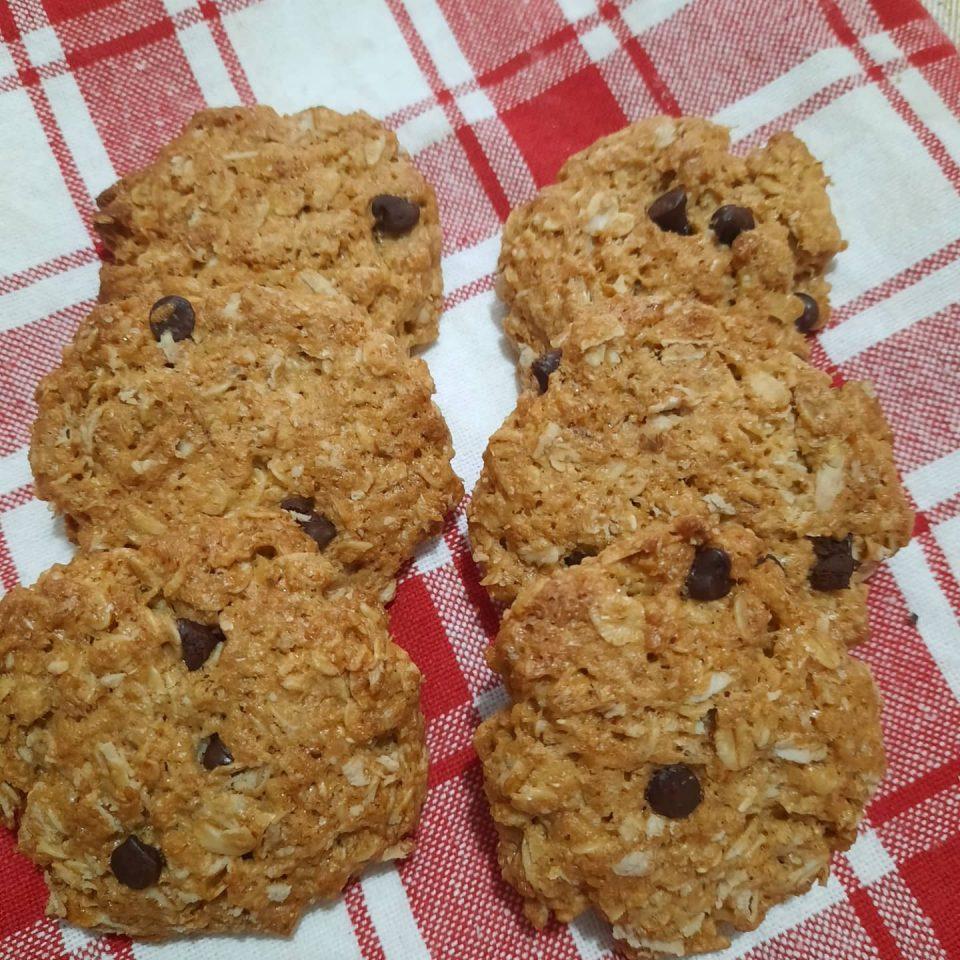 biscotti integrali con avena