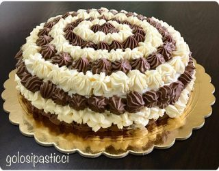 torta chantilly al doppio cioccolato