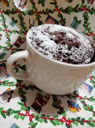 torta veloce in tazza