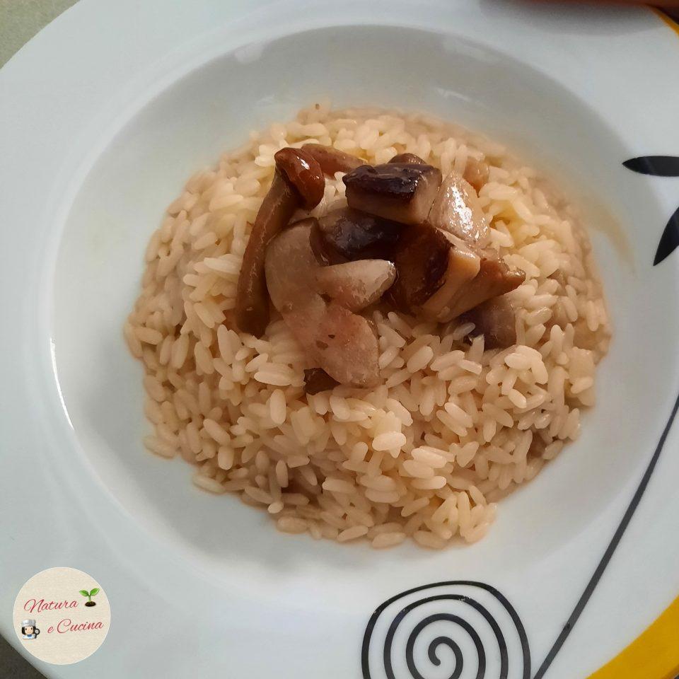 risotto ai funghi con porcini