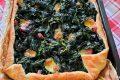 Torta di sfoglia agli spinaci