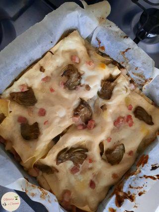 lasagne ai carciofi 2