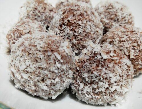 Palline al cacao e cocco light