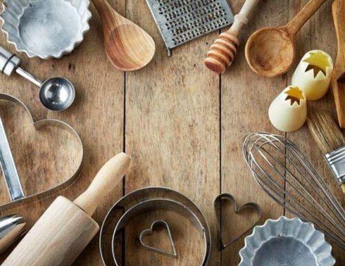 Utensili e attrezzature da cucina provati