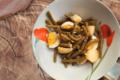Insalata di fagiolini con patate e uova