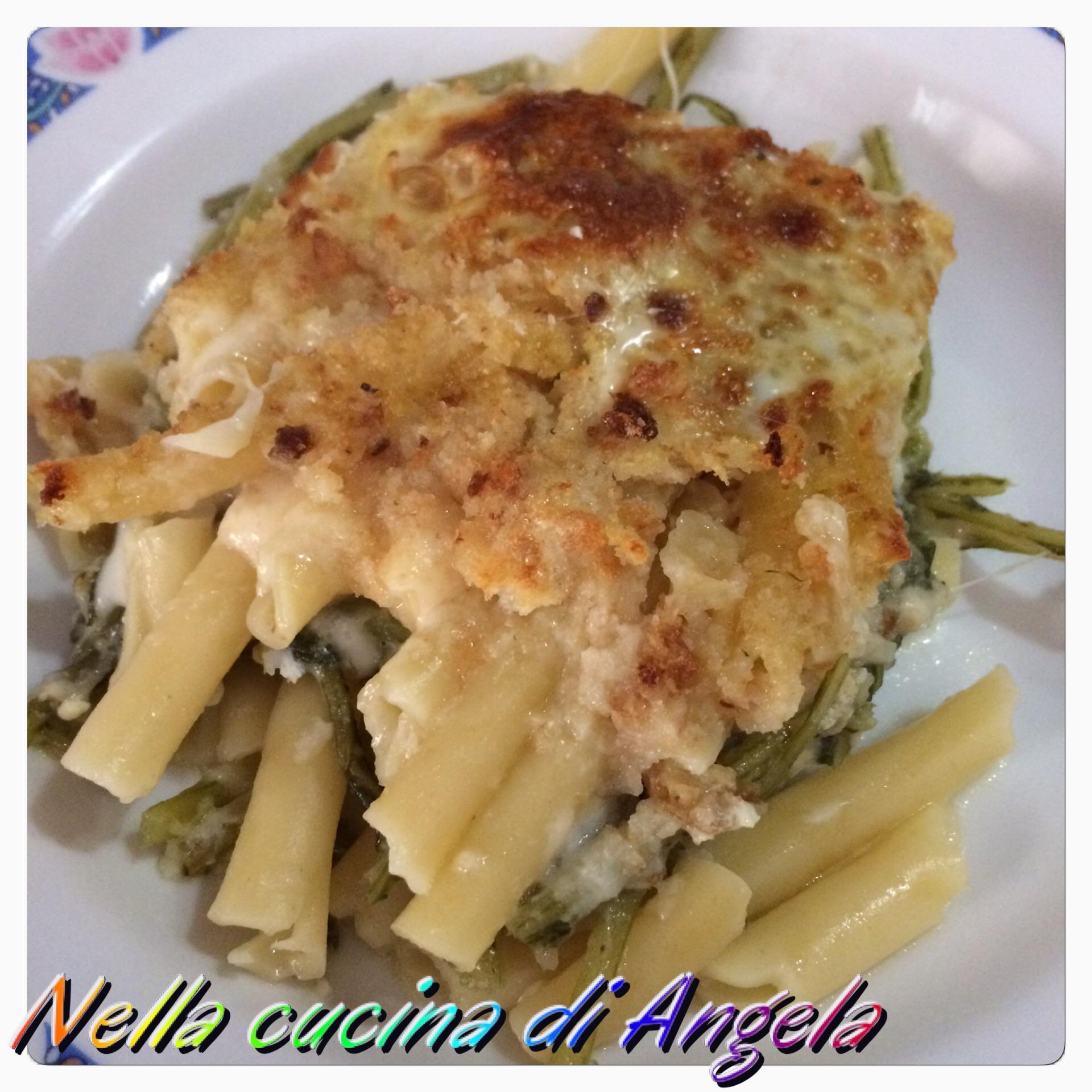 Pasta al forno con cardi spinosi nella cucina di angela - Cucinare i cardi ...