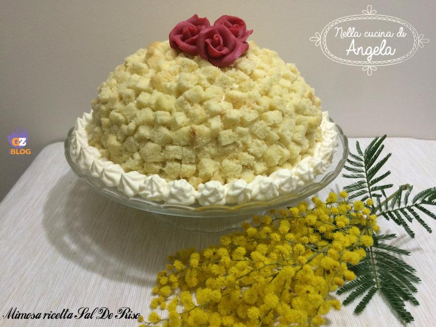 Torta mimosa ricetta Sal De Riso