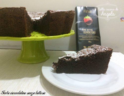Torta cioccolatino senza lattosio