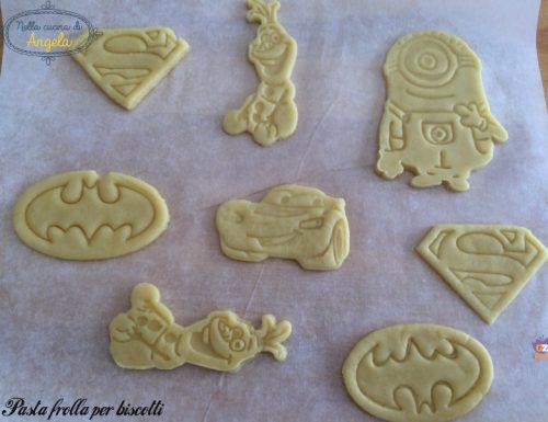 Pasta frolla per biscotti senza lattosio