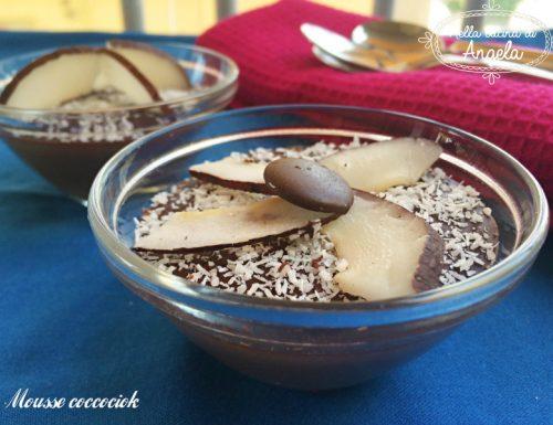 Mousse coccociok senza lattosio