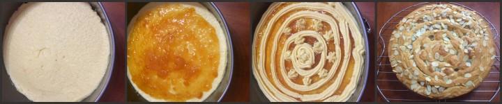 Collage torta
