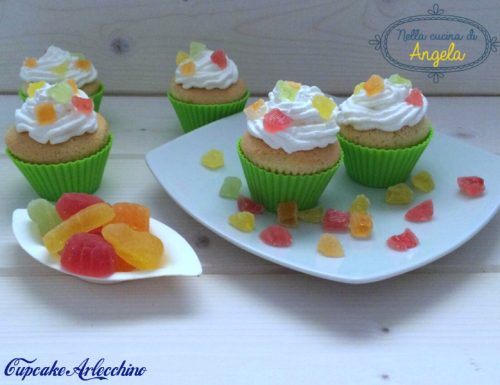 Cupcake Arlecchino