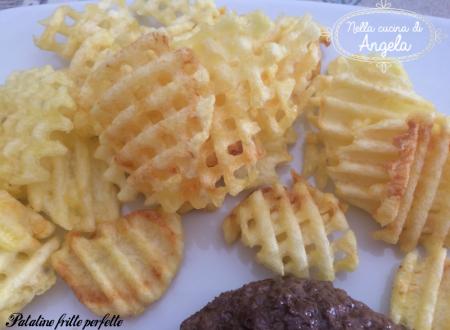Metodo perfetto per patatine fritte perfette