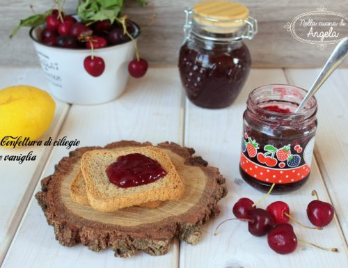 Confettura di ciliegie e vaniglia