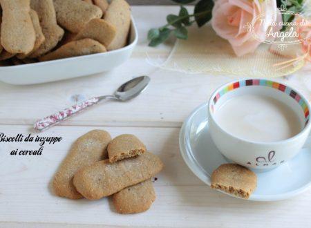 Biscotto da inzuppo ai cereali