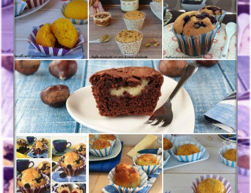 I miei muffin e tortine dolci e salati