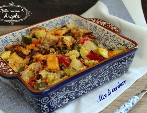 Mix di verdure al forno
