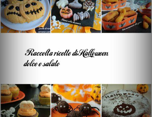 Raccolta ricette di Halloween dolce e salato