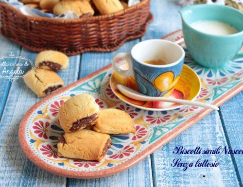 Biscotti simil nascondini senza lattosio
